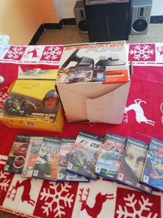 Lote PlayStation 2 edición Fernando Alonso