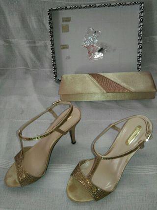 Zapatos mujer y bolso