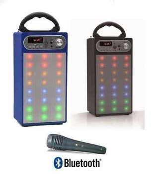 ALTAVOZ PORTATIL LED ALTAVOCES BLUETOOTH USB RADIO