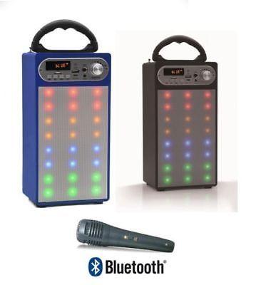 ALTAVOZ PORTATIL LED ALTAVOCES BLUETOOTH USB RADIO