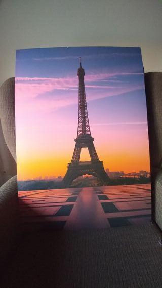 Lienzo Paris