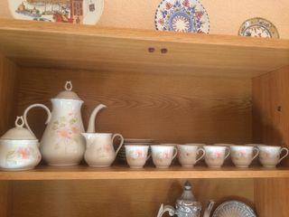 Juego café porcelana italiana Royal Tognana!