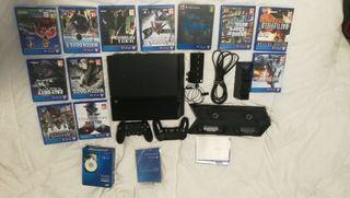 Play 4 Playstation 4 1TB + 2 mandos + juegos