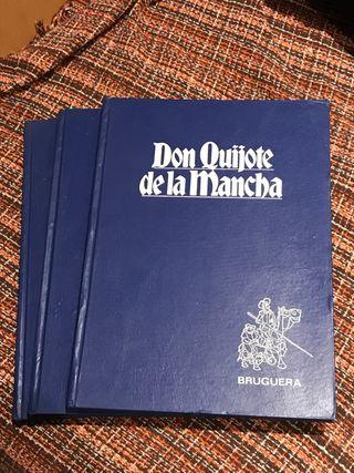 3 Comics Don Quijote de la Mancha