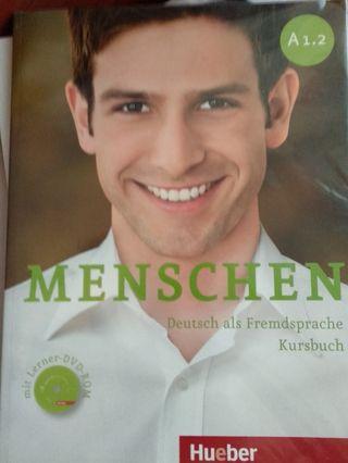 Libros alemán A1 Menschen