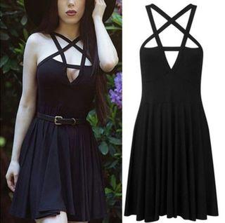 vestido gotico.