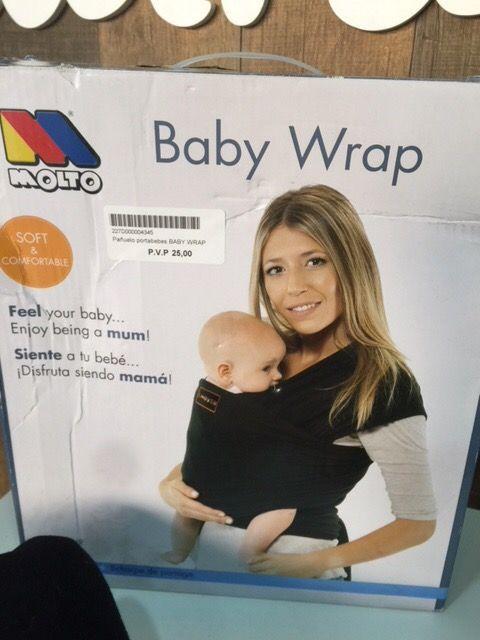 Panuelo Portabebes Baby Wrap Molto De Segunda Mano Por 18 En