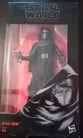 Figura Star Wars black series Kylo Ren