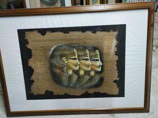 Enmarcacion con papiro