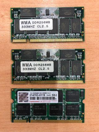 RAM Portatil 1 GB