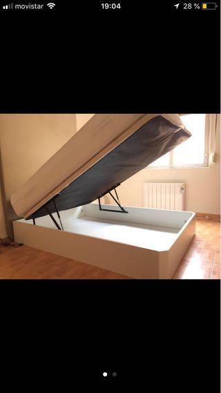 Canapé y colchón flex