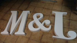 letras poliespan
