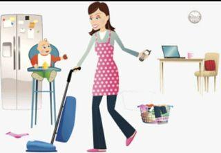 Limpieza de hogar y cuidadora de niños en Coín