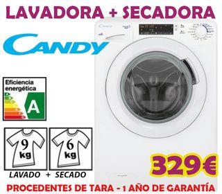 Lavadora secadora Candy 9kg+6kg