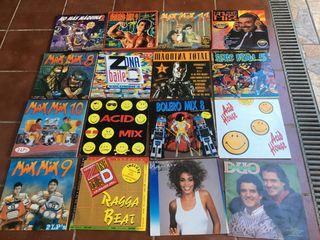 Lote discos de vinilo