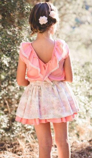Conjunto falda y blusa La Buena Juanita T. 9