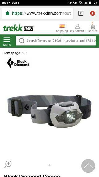 frontal black diamond cosmos dark 90 lumens