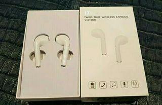 auriculares tipo airpods i7 tws a estrenar