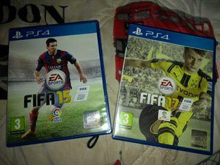 FIFA 17 + FIFA 15 ps4 PlayStation