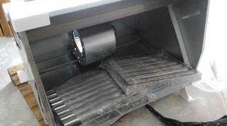 campana industrial extractora NUEVA completa
