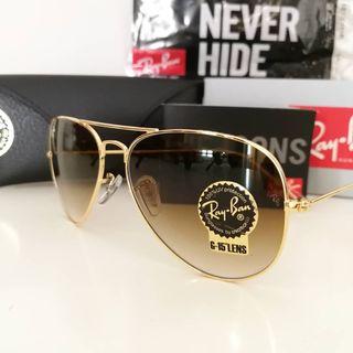 Gafas de sol Ray-Ban Aviador Gradient Originales