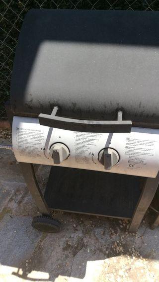 Barbacoa de Gas