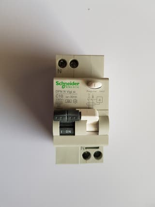 Interruptor Diferencial 1P+1N, C10, 30mA
