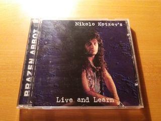 Brazen Abbot CD Live And Learn Original