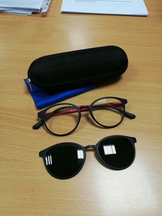 gafas graduadas y de sol