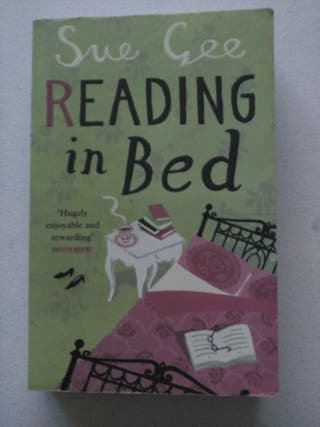 Reading in bed. Sue Gee