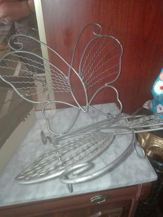 porta revista mariposa