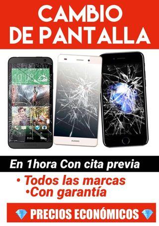 cambiar pantalla iPhone 6s 6 7 8 huawei p8 p9 g8