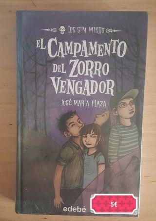 """Libro """"El campamento del zorro vengador"""""""