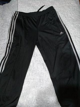 Pantalones chandal adidas talla 40 mujer
