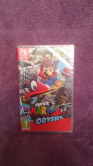 Super Mario Odissey Nintendo Switch