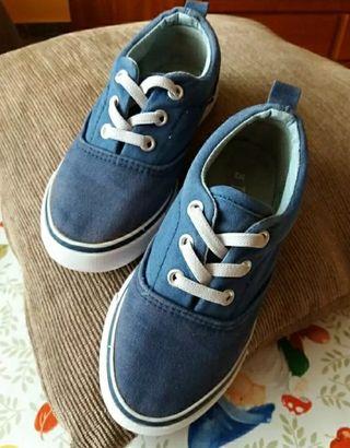 Zapatillas loneta niño/a
