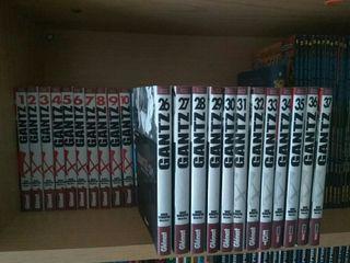 colección manga completa :Gantz