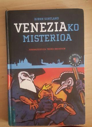 """Libro """"Veneziako misterioa"""""""