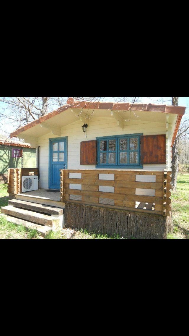 5fc38777aa9 Casa de madera para parcela o camping. de segunda mano por 8.000 ...