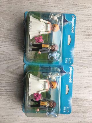 Muñecos de boda playmobil
