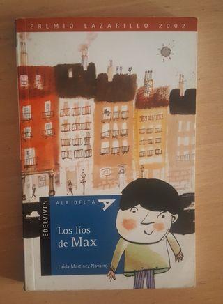 """Libro """"Los líos de Max"""""""