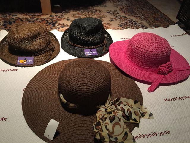 Lote pamelas y sombreros mujer de segunda mano por 25 € en El Soto ... 59af752e8c9