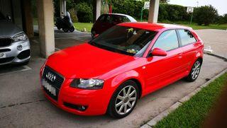Audi A3 2006, 140 cv Rojo Sline URGE VENDER.