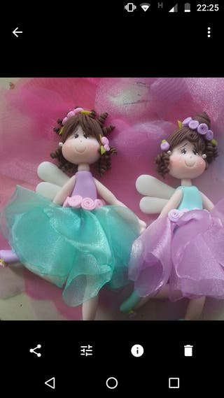 Muñecos de porcelana fría
