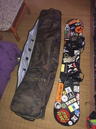 Tabla snowboard bolso burton