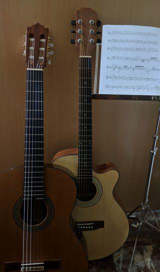 Clases particulares de guitarra y música