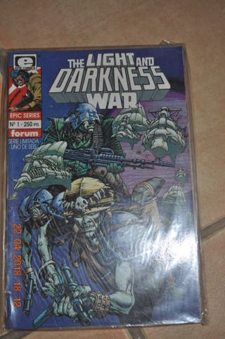 The Light and Darkness WAR completa 6nºs Epic