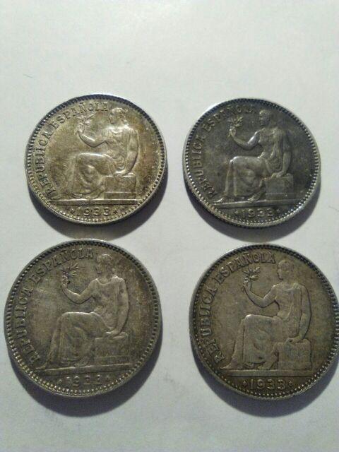 Moneda de plata, moneda antigua.