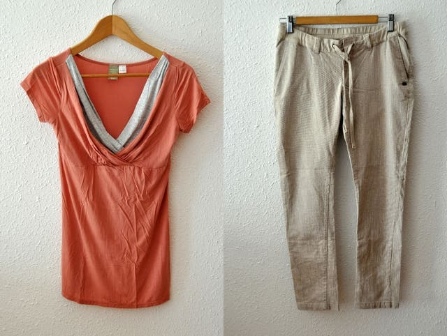 db25e2dd336 Conjunto ropa Premamá. Embarazada de segunda mano por 10 € en ...
