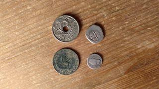 monedas muy antiguas